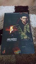 HOT TOYS 1/6 Resident Evil 5 BIOHAZARD Chris Redfield stelle Figura-Nuovo di Zecca