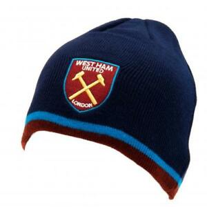 West Ham United F.C. Knitted Hat TP Official Merchandise