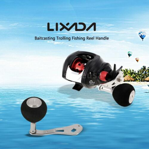 Lixada Fishing Reel Handle Baitcasting Metal Right//Left Hand Brand New Q3E0