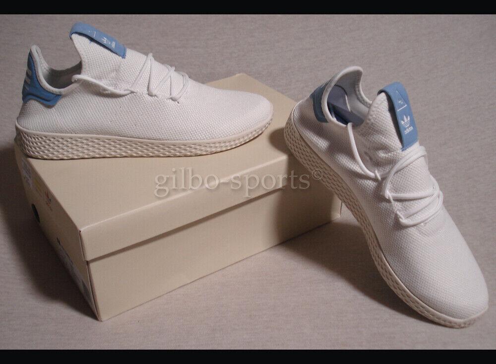 Adidas PW Tennis HU J Pharell Williams Weiß Blau  Größen 37 1 3  weiß CQ2302