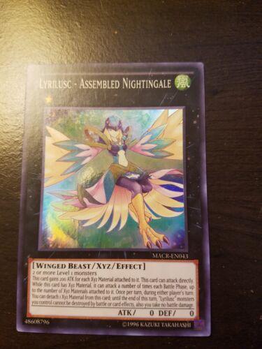 Lyrilusc Assembled Nightingale *Super Rare* MACR-EN043 NM