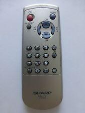 SHARP LCD TV REMOTE CONTROL G1618SA