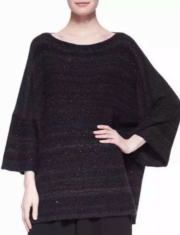 Eskandar Cashmere Boxy Wide Sweater O S One Size Soft Warm  2,995 NEW