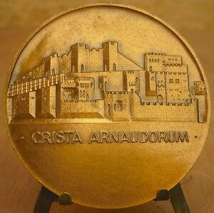 100% De Qualité Médaille La Tour De Crest Signée R Cochet Medal 勋章 Crista Arnaudorum 1963 BéNéFique Au Sperme