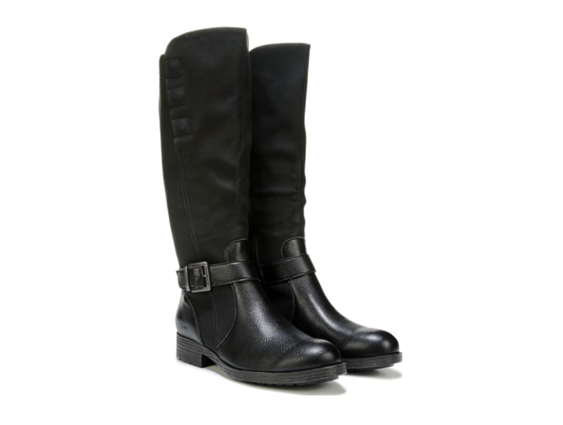 ny BORT B.O.C. MCKENNA TALL RIDING BOOT BOOT BOOT ZIP SIDE kvinnor 8.5 SVART Z36909  nyhetsartiklar