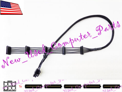 ➨➨➨ Cooler Master All Black 6-Pin To Five SATA Connector Cable for Power Supply