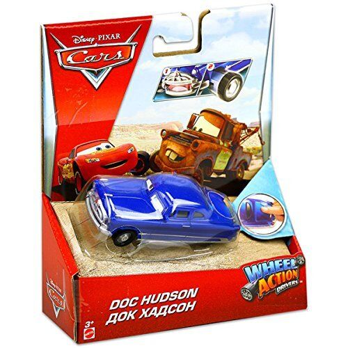 "Disney Pixar Cars Wheel Action Driver 3/"" Toy Vehicle Car With Popping Wheels"