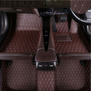 3pcs-Custom-Duty-Durable-Car-Floor-Mats-Audi-Set-Car-Van-PU-Leather-Car-Parts-UK