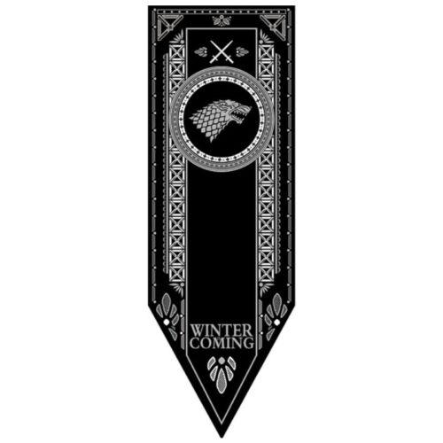 Nuit Targaryen Lannisters Game Of Thrones Maisons Drapeaux // Bandeaux Stark