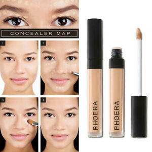 PHOERA Makeup Concealer Liquid Moisturizer Conceal HD High Definition Foundation