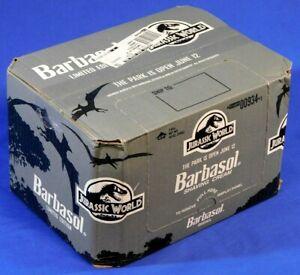 JURASSIC-PARK-WORLD-BARBASOL-12-COUNT-SHAVING-CREAM-CASE-BOX