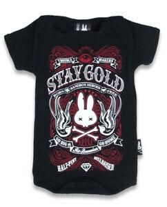 BABY-ROMPER-ROCKABILLY-STAY-GOLD-GO-HOME-PUNK-SIX-BUNNIES-TATTOO-METAL-ROCKER