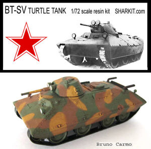 Soviet-BT-SV-Turtle-Tank-1-72-scale-resin