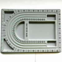 Plastic Flocked Beading Board Design Tray 33x24cm