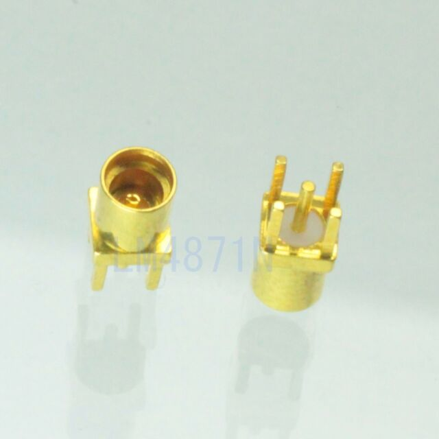 1pce Connector MMCX female jack solder PCB mount straight 2.5mm