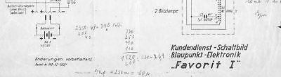 Der GüNstigste Preis Blaupunkt Orig. Service Schaltbild F. Blitz Favorit I Aromatischer Geschmack