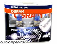 HB4 OSRAM Night Breaker UNLIMITED - Power DUO-Box +110% - 2 St. ++ NEU++