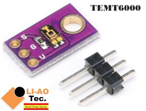TEMT6000 Light Sensor TEMT6000 Sensitivity Ambient Light Simulate Intensity