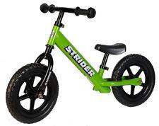 STRIDER 12 Balance Bike Classic Kids No-Pedal Learn To Ride Pre Bike GREEN NEW