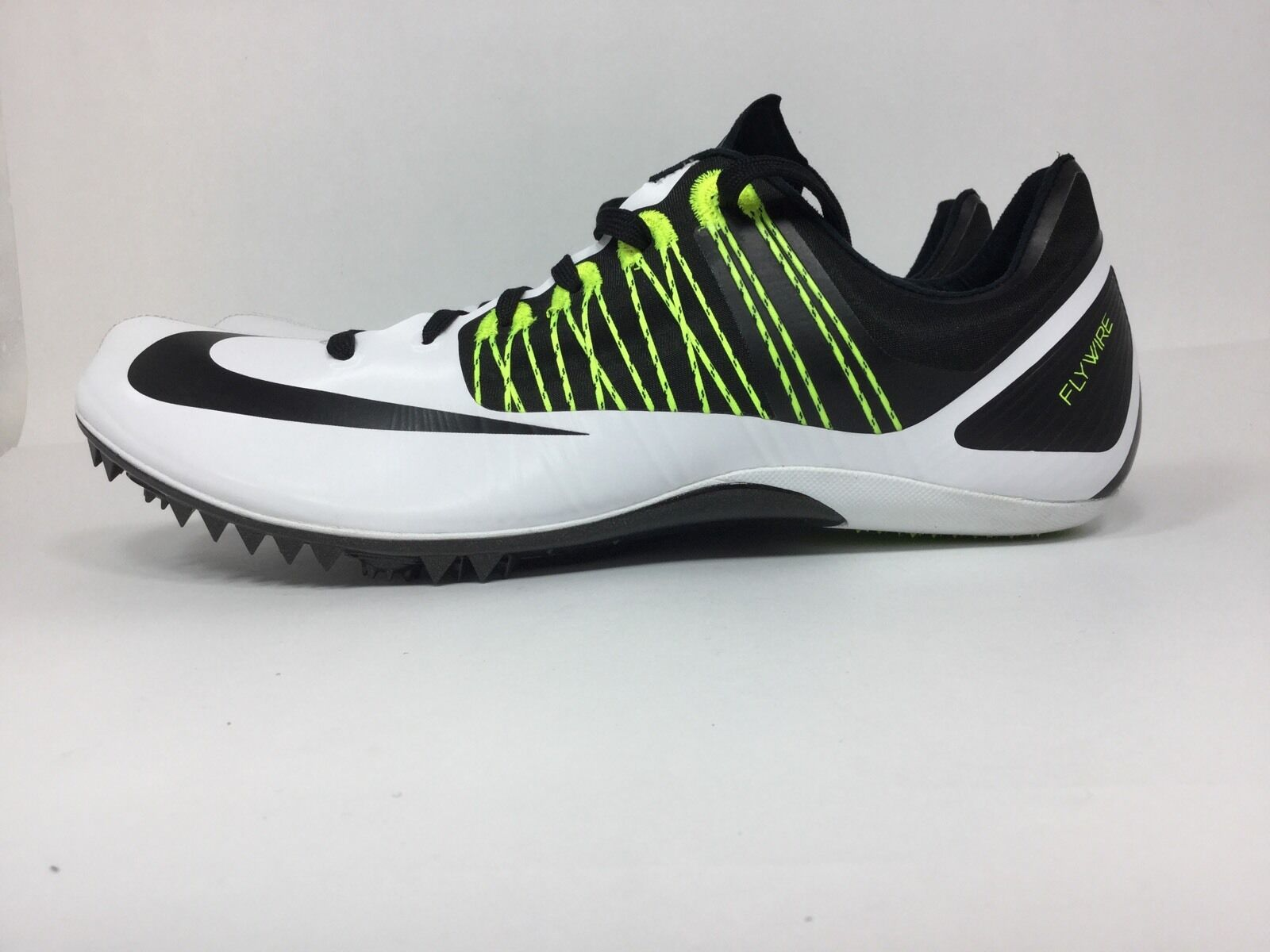 Nike zoom celar celar celar 5 punte track / 5 sprint scarpe bianche sz 15 a50254