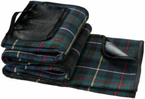 Coperta plaid da picnic impermeabile con tessuto scozzese 0GQM