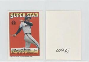 Details About 1988 O Pee Chee Super Star Sticker Backs Peeled 55 Terry Kennedy Baseball Card