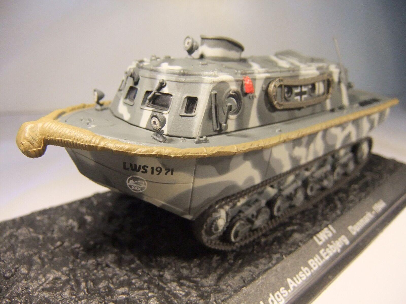 1 72 scale Atlas Military - LWS 1 - Pi Ldgs Ausb Btl Esbjerg - Denmark 1944