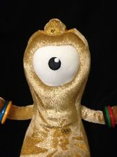 London 2012 Olympics Gold Wenlock Plush Mascot Park Limited Edition UK England