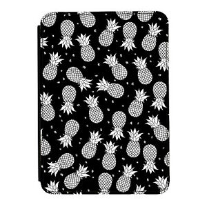 Black-amp-White-Pineapples-Kindle-Paperwhite-Touch-PU-Leather-Flip-Case-Cover
