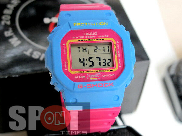 c65177fcd Casio G-shock 80s Street Fashion Colors Men's Watch Dw-5600tb-4b for sale  online | eBay