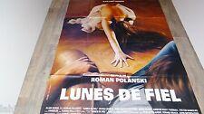 LUNES DE FIEL  ! roman polanski affiche cinema