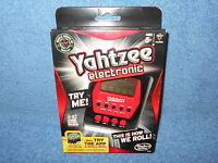 2012 Yahtzee Handheld Electronic Game Red & Black A2125 - Brand In Package