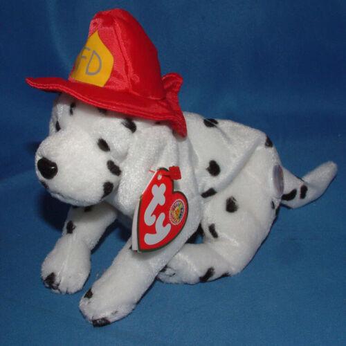 Dog Fireman BBOM 2004 MWMT Ty Beanie Baby Fireplug