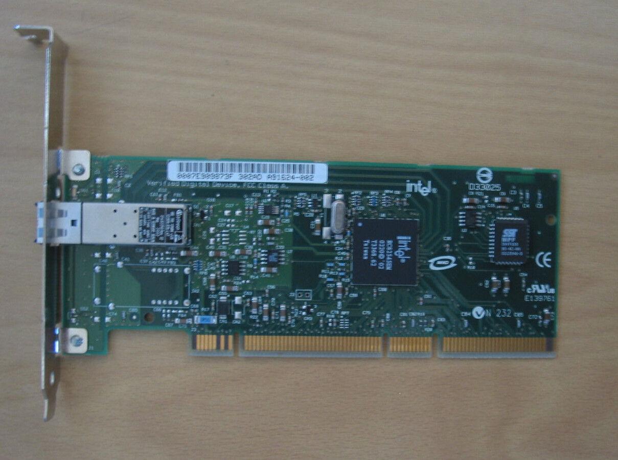 Intel +++ PRO server adapter/1000 MF + PCI + used +++