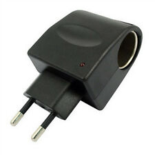 220V AC to 12V DC Car Cigarette Lighter Power Socket Plug Adapter Converter