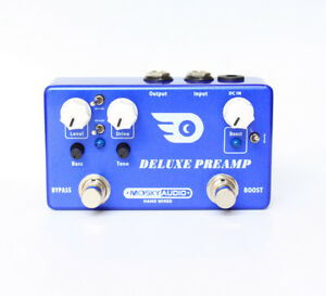 Hand-Made-DELUXE-PREAMP-guitar-effect-pedal-Boost-And-Overdrive-2-effects-in-1