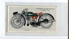 (Ju197-100) Lambert & Butler,Motor Cycles, P & M ,1923 #38
