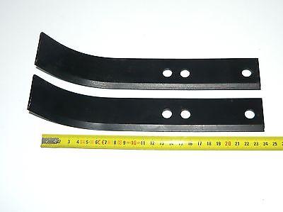 x2 Couteau Gauche Type Bineur pour motoculteur Honda