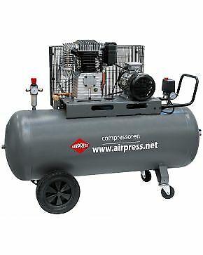 Airpress Druckluft Kolben Kompressor 400V 5,5 PS 270 L 11 bar H700-300 Profi