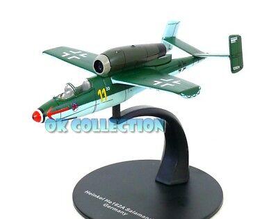 Die cast 1//72 Modellino Aereo Aircraft Heinkel He 162A Salamander Germany