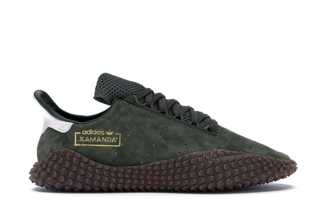 NEW Adidas Kamanda 01 Mens shoes Base Green Crystal White Brown B96521 Trainers