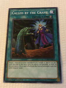 Called by the Grave FLOD-EN065 Common Yu-Gi-Oh Card 1st Edition New