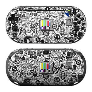 Details about Sony PS Vita Slim Skin Kit - TV Kills Everything - Decal  Sticker