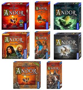 Legenden-von-Andor-Kosmos-Fantasy-Brettspiel-Grundspiel-Erweiterungen-Helden
