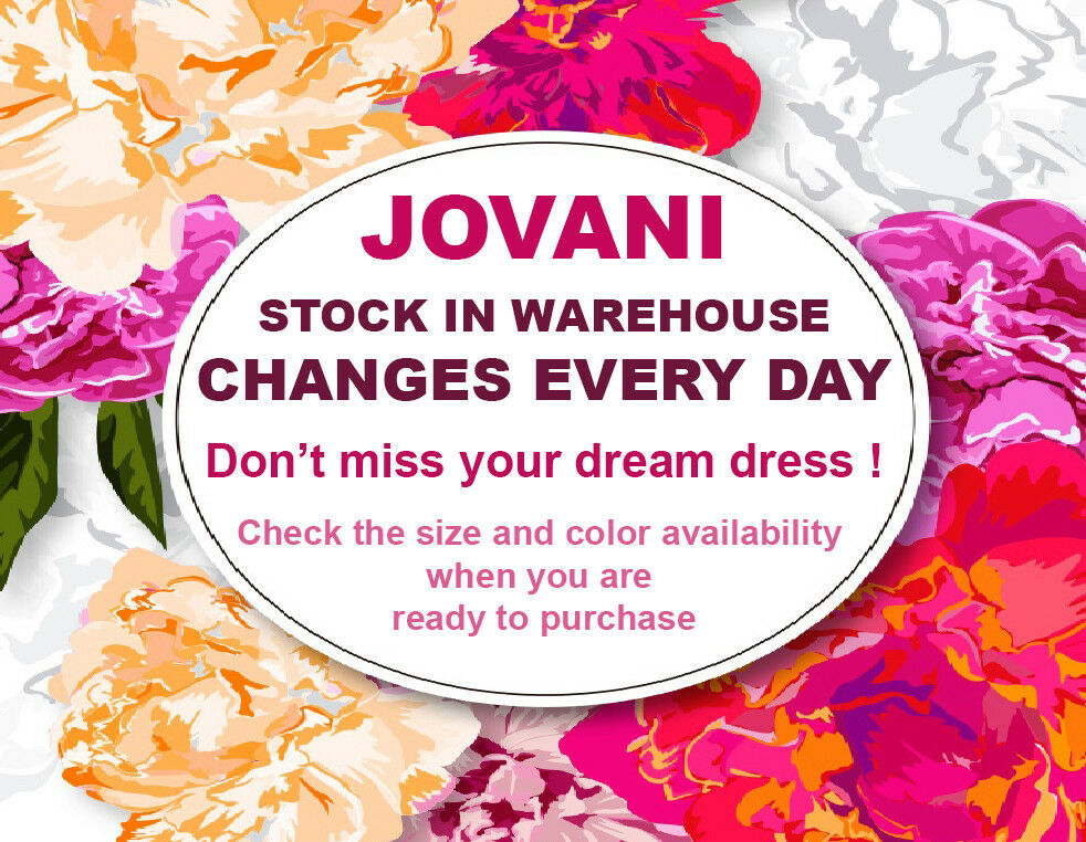 2019 COLLECTION   JOVANI 63405 authentic dress. dress. dress. FREE UPS USPS. BEST SERVICE   b4a238