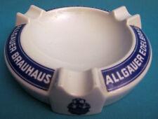 """CENDRIER EN CÉRAMIQUE ALLEMANDE BIÈRE """" Allgäuer Brauhaus """""""