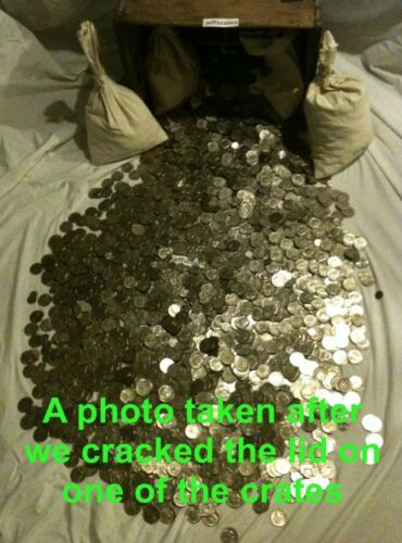FREE GOLD✯ ✯1 Ounce OZ 90/% SILVER US COINS $✯OLD ESTATE SALE LOT HOARD✯ BULLION