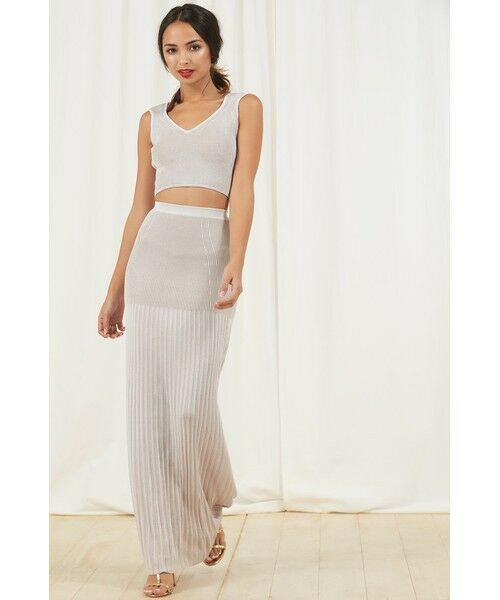 TORN BY RONNY KOBO ROWENA TOP AND IONE SKIRT SMALL MEDIUM