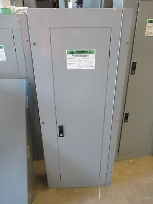 E1474 GE 225 Amp Main Lug 3 Phase 120//208 Volt 42 Circuit Panelboard