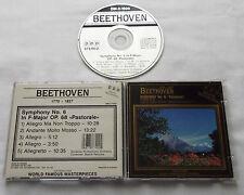 BEETHOVEN Symphony #6 REZUCHA/Slovak Philh Orchestra CANADA CD DM-2-1020 Mint